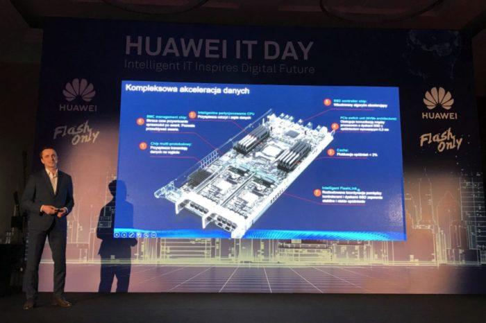 Huawei IT Day 2019 - Macierze all-flash zdominują rynek pamięci masowych, zgodnie z wynikami badania IDC, przeprowadzonego na zlecenie Huawei.