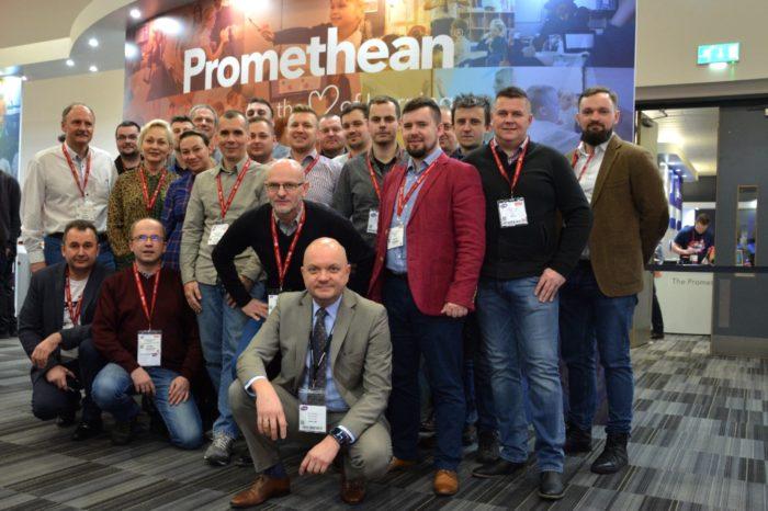 Incom Group wraz z marką Promethean, umożliwił Partnerom, biorącym udział w programie STEAMaster, uczestnictwo w londyńskich targach technologii dla sektora edukacyjnego BETT Show 2019.