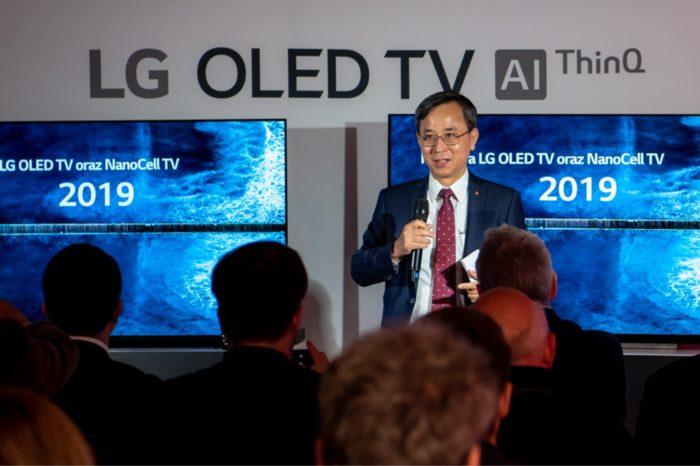 Polska premiera telewizorów LG OLED 2019 - Jeszcze wyższy poziom sztucznej inteligencji w najnowszych telewizorach LG OLED i NanoCell 2019.