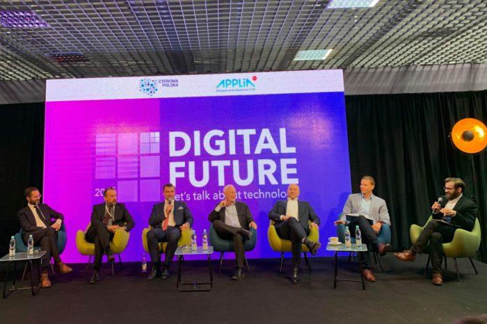 """Digital Future 2019 """"Let's talk about technology"""" – Cyfryzacja gospodarki jest w interesie państwa, społeczeństwa i biznesu, prawo musi wspierać rozwój technologii w Polsce."""