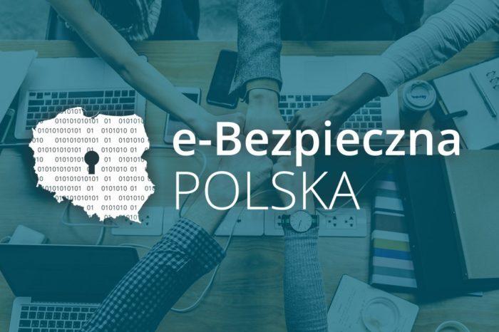 Wystartowała e-Bezpieczna Polska – bezpłatna platforma webinarów z zakresu cyberbezpieczeństwa dla firm i przedsiębiorców którzy zamierzają szkolić swoje zespoły w tym kierunku.
