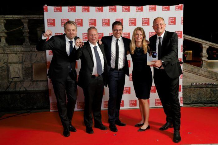 Great Place to Work®, organizator konkursu Best Workplaces in Europe, ogłosił doroczną listę Najlepszych Miejsc Pracy w Europie - Wśród najlepszych europejskich miejsc pracy dziesięć znajduje się w Polsce.