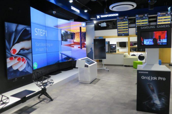 Samsung Polska zaprezentował zmodernizowany Showroom B2B Samsung, wzbogacony najnowsze rozwiązania z obszaru professional display wraz z najnowszą wersją MagicINFO 7.