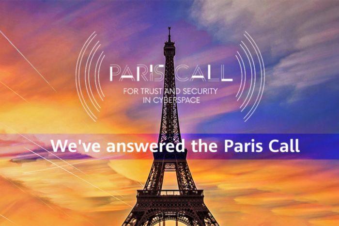 Huawei dołącza do społeczności Paris Call for Trust and Security in Cyberspace, by podnosić poziom bezpieczeństwa i zaufania w cyberprzestrzeni.