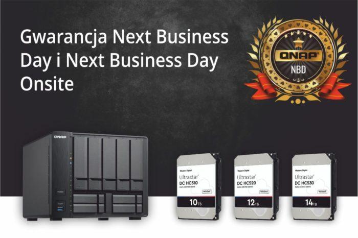 QNAP zdecydowała się na rozszerzenie gwarancji usług serwisowych Next Business Day oraz Next Business Day Onsite – od teraz obejmuje ona również awarie dysków.