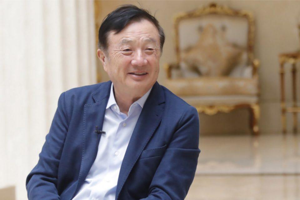 """Ren Zhengfei, założyciel Huawei w wywiadzie dla Kyodo News """"Liczę na współpracę z Japonią, będziemy pogłębiać naszą współpracę z japońskimi firmami."""""""