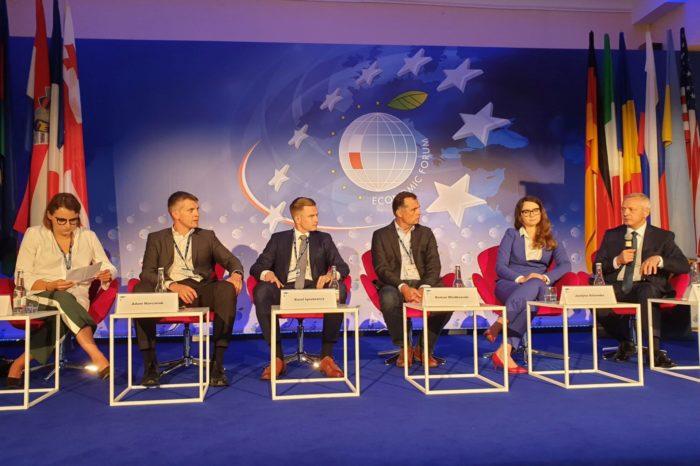 Cyfryzacja to konieczność – za nami pierwszy dzień Forum Cyberbezpieczeństwa podczas XXIX Forum Ekonomicznego w Krynicy.