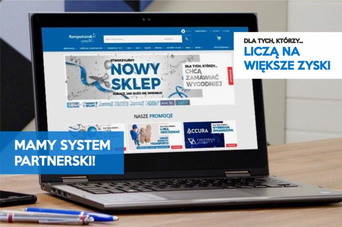 Komputronik, jedna z czołowych marek na polskim rynku zajmująca się sprzedażą sprzętu IT, stawia na rozwój salonów partnerskich.
