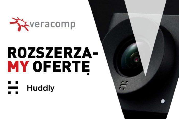 Veracomp dystrybutorem na kraje Europy Środkowo-Wschodniej norweskiej marki Huddly, producenta kamer USB ze sztuczną inteligencją.