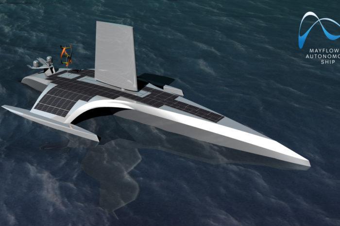 """Autonomiczny statek badawczy """"Mayflower"""" wykorzysta technologię IBM AI do samodzielnego przepłynięcia Atlantyku w 2020 roku."""