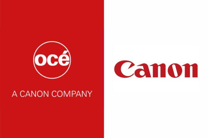 Koniec marki Oce - Firmy Canon i Oce ogłosiły dziś oficjalną zmianę nazwy handlowej Oce (należącej do Canon Group) na Canon Production Printing.