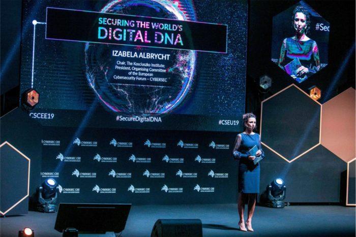 """Rozpoczęła się jubileuszowa V edycja Europejskiego Forum Cyberbezpieczeństwa CYBERSEC 2019, organizowanego przez Instytut Kościuszki pod hasłem """"Zabezpieczenie cyfrowego DNA świata""""."""