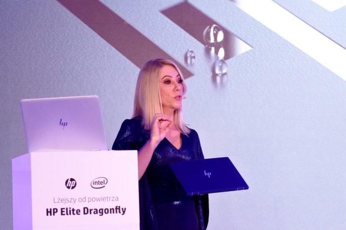 Cała doba na baterii. HP Elite Dragonfly oficjalnie zaprezentowany w Polsce. To jeden z ładniejszych laptopów z segmentu premium.