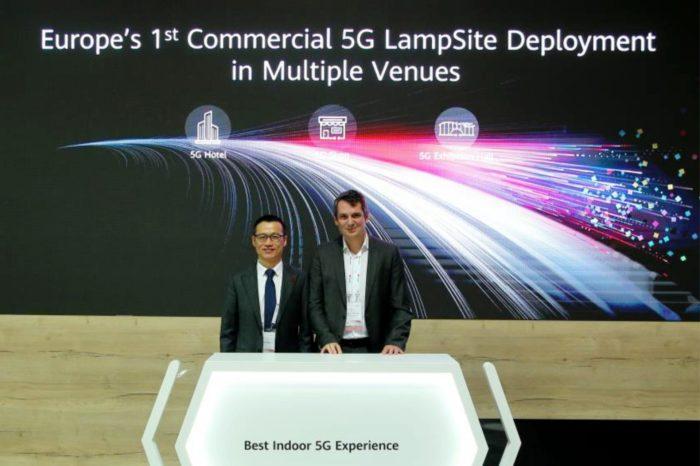 Sunrise i Huawei podczas Global Mobile Broadband Forum 2019 ogłosiły że uruchomiły w Szwajcarii, stacje bazowe 5G działające wewnątrz budynków.