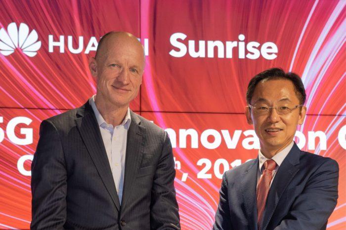 Sunrise i Huawei otwierają pierwsze w Europie, Centrum Innowacji 5G, wspólne centrum ma pomóc zbudować szwajcarski ekosystem 5G.
