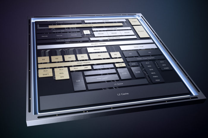 Nowa mikroarchitektura dla procesorów Atom. Rdzenie Intel Tremont są składową układów Lakefield - czerpiących niewiele energii elektrycznej procesorów nowej generacji.