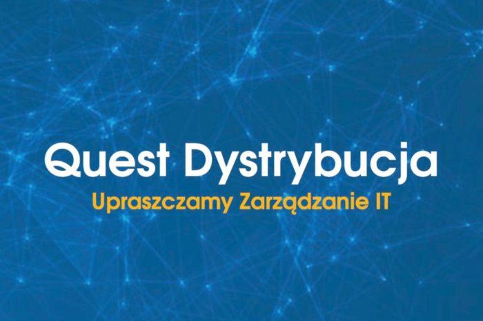 Quest Dystrybucja Sp. z o.o. podczas konferencji Quest Software Partner Advisory Board w Istambule, nagrodzona za największą sprzedaż rozwiązań MPM (Microsoft Platform Management Solutions).