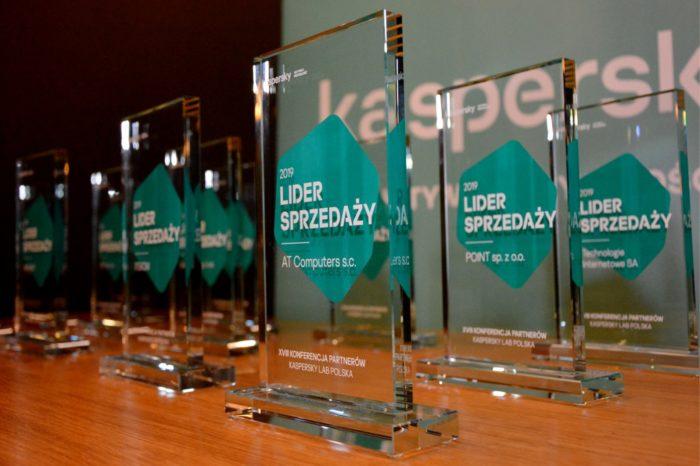 Kaspersky Lab Polska podczas XVIII edycji Konferencji dla Partnerów nagrodziło dwunastu liderów sprzedaży w sieci partnerskiej w Polsce.