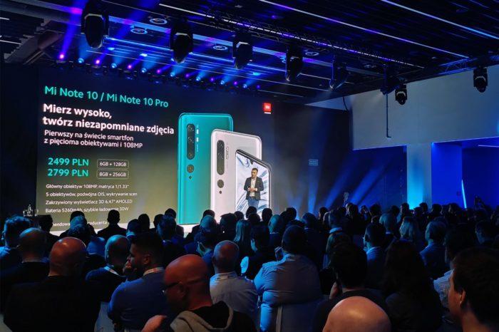Xiaomi MI Note10 i MI Note 10 Pro sprawiają, że nagle chcę zmienić swój telefon. Pięć obiektywów, zoom optyczny, absurdalnie wysoka rozdzielczość 1080 MP i podwójna stabilizacja obrazu. Do tego ta cena...