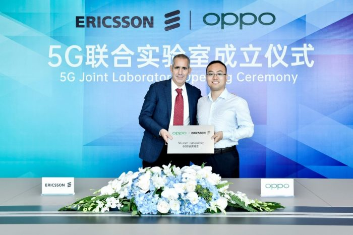 OPPO i Ericsson uruchamiają Laboratorium 5G, które posłuży pogłębieniu współpracy obu firm w obszarze związanym z 5G.