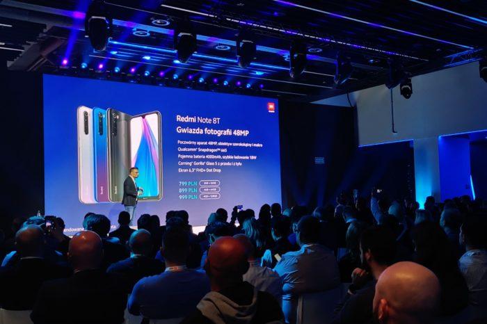 Cztery aparaty w telefonie poniżej 1000 PLN? Xiaomi Redmi Note 8T debiutuje w Polsce. Znamy konfiguracje i ceny.