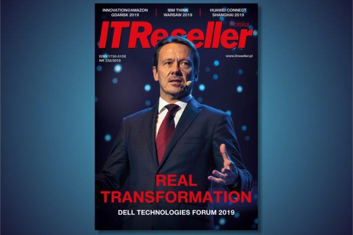 "Magazyn IT RESELLER nr. 332. Tematyka numeru: ""Transformacja Cyfrowa, Telekomunikacja, AI, Chmura i 5G oraz Raport Rynek Druku"""
