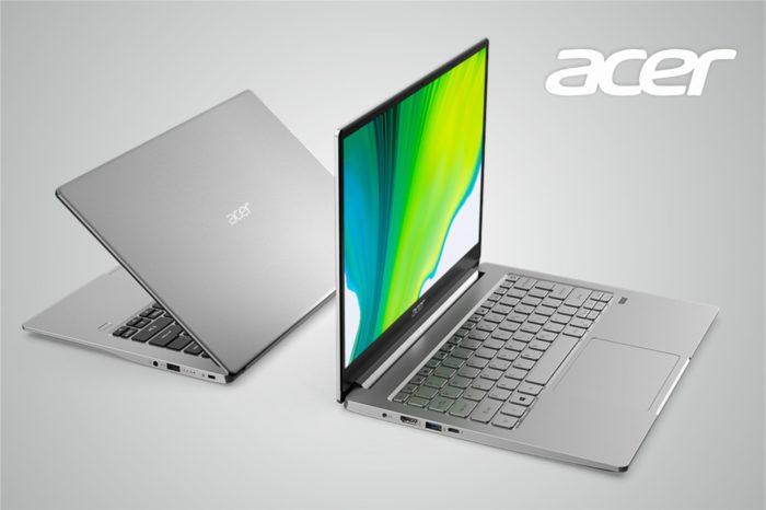 Acer podczas CES 2020 zaprezentował dwa nowe ultralekkie notebooki Swift 3 z procesorami nowej generacji AMD Ryzen 4000 oraz Intel Core 10 Gen zgodnych z projektem Athena.