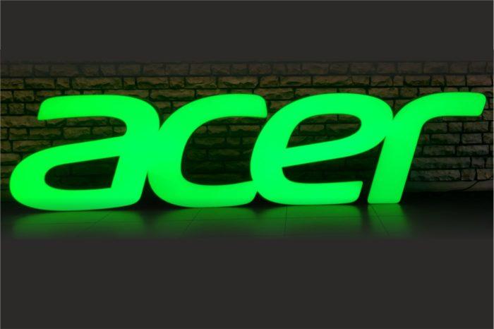 Acer opublikował swoje wyniki finansowe - styczeń 2021 był rekordowy, a w ostatnim czasie firma notuje imponujące wzrosty.