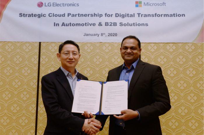 LG wspólnie z Microsoft podczas CES 2020 zawiązały strategiczne partnerstwo którego celem jest przyspieszenie prac nad innowacjami ze sztuczną inteligencją dla klientów B2B.