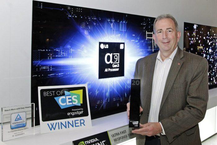 Podczas targów CES 2020, branżowi eksperci przyznali firmie LG Electronics rekordową liczbę nagród – ponad 150 – spośród których najważniejszą jest tytuł Best TV of CES zdobyty już szósty rok z rzędu.