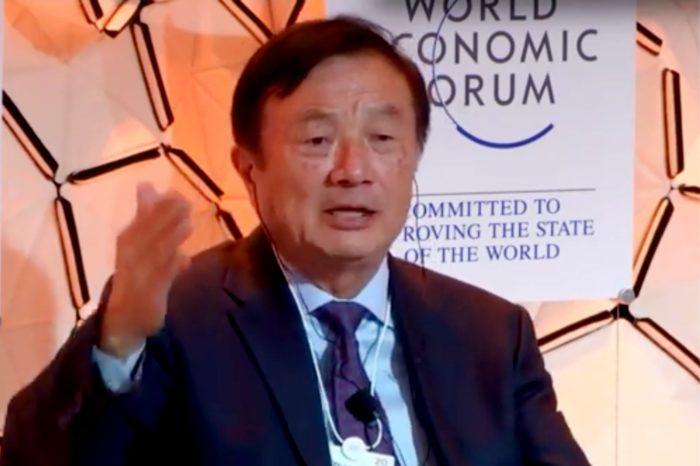 Ren Zhengfei, prezes i założyciel Huawei podczas spotkania w Davos: amerykańskie sankcje nie zaszkodziły firmie.