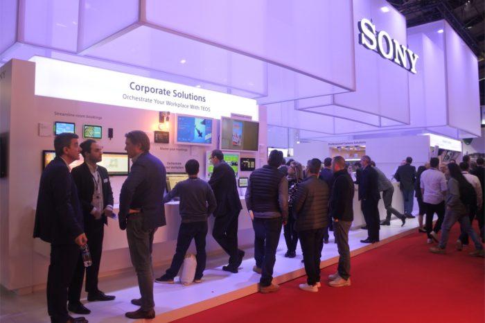 ISE 2020: Sony TEOS 2.2 - system do zarządzania miejscem pracy zaprezentowany podczas targów w Amsterdamie. Podstawą ma być automatyzacja i IoT.