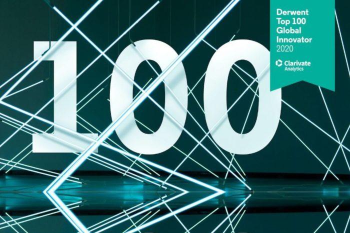 """Kaspersky uznany za jednego ze 100 największych innowatorów w kategorii oprogramowania wg rankingu firmy Clarivate Analytics """"Derwent Top 100 Global Innovators 2020""""."""