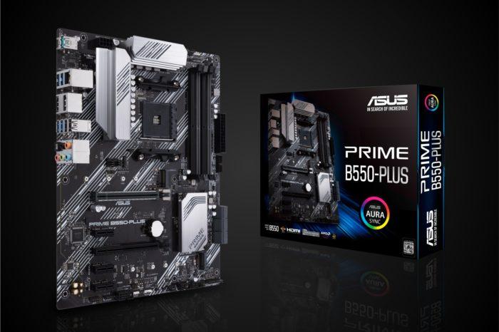 ASUS prezentuje najnowsze płyty główne serii B550, dzięki płytom głównym ROG Strix, TUF Gaming i Prime opartym na najnowszym chipsecie B550 technologia PCIe 4.0 staje się dostępna dla wszystkich użytkowników.