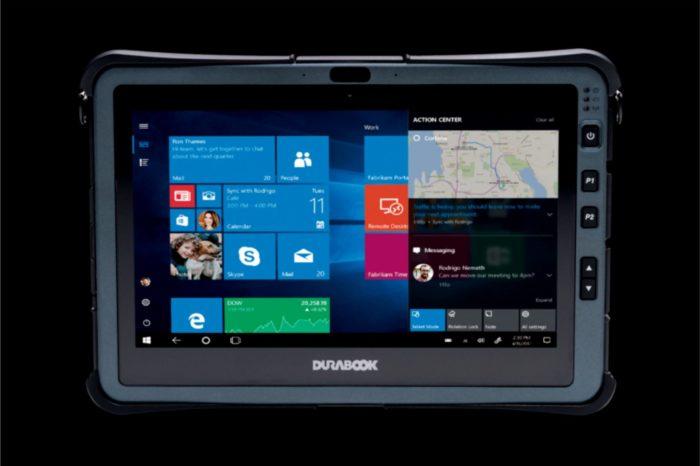 Najnowszy, pancerny tablet DURABOOK U11I jest wyposażony w procesory Intel® Core™ 10. generacji, co pozwoliło uzyskać aż 260 proc. zwiększenia ich wydajności w stosunku do poprzednich modeli.