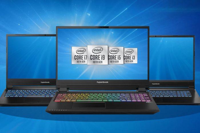 Hyperbook, polski producent laptopów, wprowadza do oferty maszyny oparte o procesory Intel Comet Lake-H oraz karty graficzne NVIDIA RTX Super.