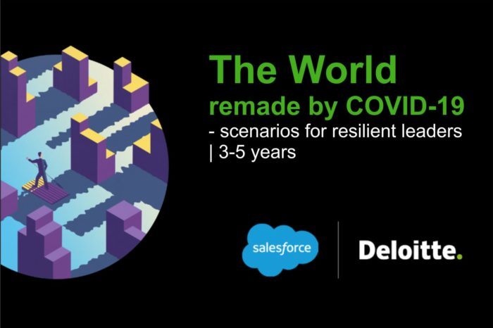 Już niemal połowa zatrudnionych boi się utraty pracy. Czy technologia uratuje miejsca pracy ? - Najnowszy raport Salesforce i Deloitte przedstawia scenariusze dla liderów na następne 3 do 5 lat, nie tylko w wariancie optymistycznym.