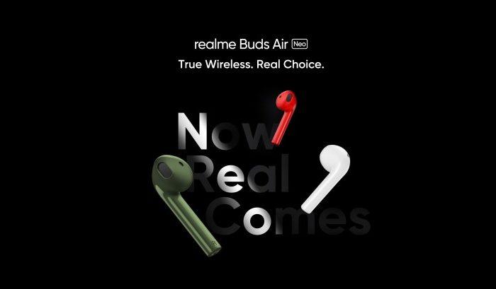 Realme szykuje nowe słuchawki bezprzewodowe typu True Wireless. Słuchawki Realme Buds Air Neo TWS mają zadebiutować już 25 maja.