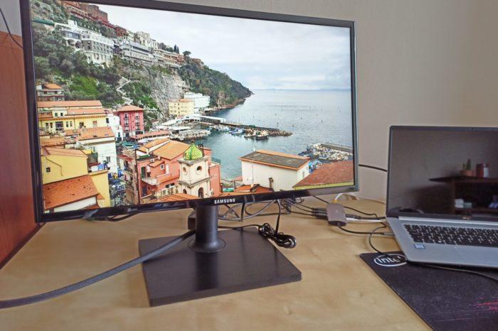 RECENZJA: Samsung F24T40 - 24-calowy, biurowy monitor IPS z pivotem.