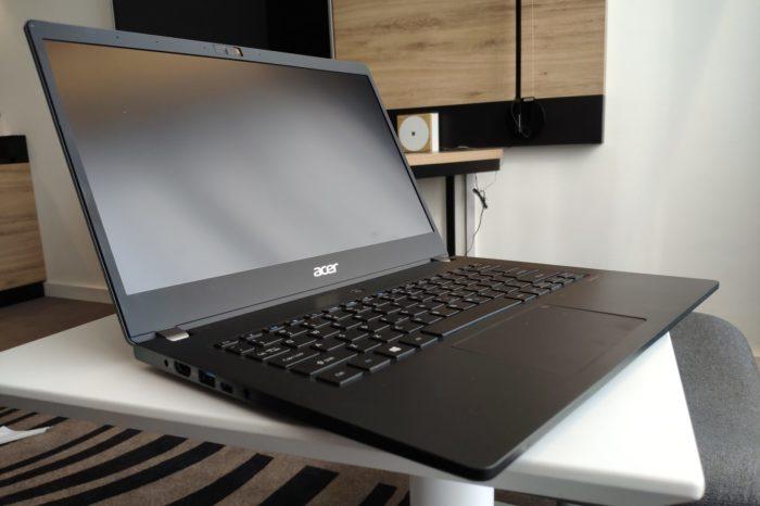 RECENZJA: Acer TravelMate P6 (P614)- bardzo lekki laptop z procesorami Intel Core 10 generacji dla odbiorcy biznesowego.