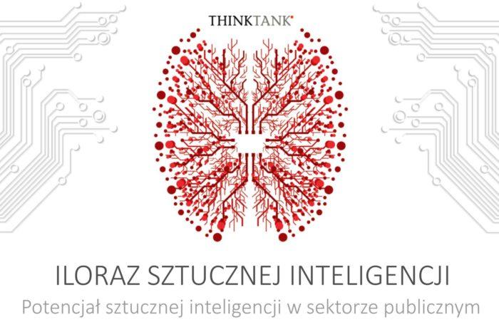 """Europa stawia na sztuczna inteligencję! Wynika z trzeciej edycji raportu firmy Microsoft """"Iloraz sztucznej inteligencji. Potencjał sztucznej inteligencji w sektorze publicznym""""przygotowanej z ekspertami z ośrodka THINKTANK."""