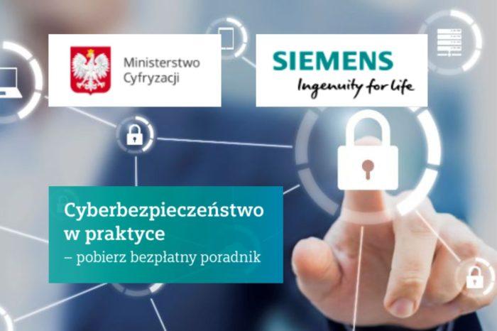 """Siemens udostępnia kompendium wiedzy na temat cyberbezpieczeństwa w przemyśle """"Od audytu do bezpiecznej infrastruktury – Cyberbezpieczeństwo w praktyce"""" dotyczace ochrony procesów i informacji w przemyśle."""