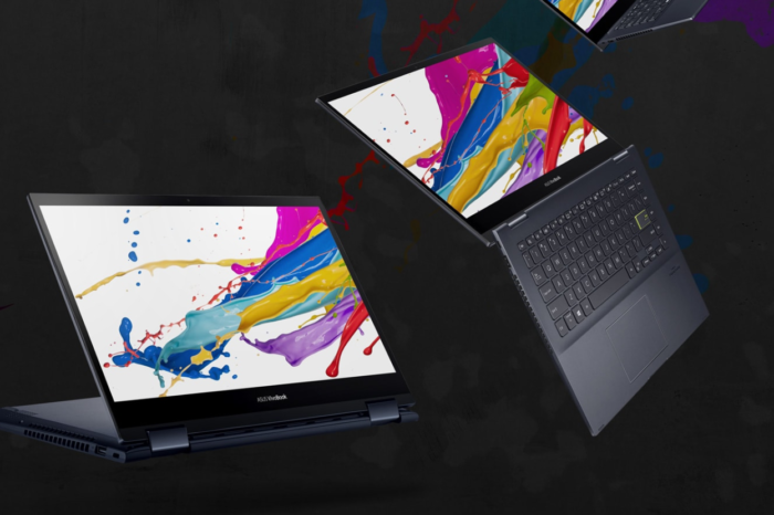 ASUS wprowadza nowe laptopy 2-w-1 z procesorami AMD Ryzen 4000. VivoBook Flip 14 to 14-calowy laptop konwertowalny, który wykorzystuje zalety nowej platformy sprzetowej.