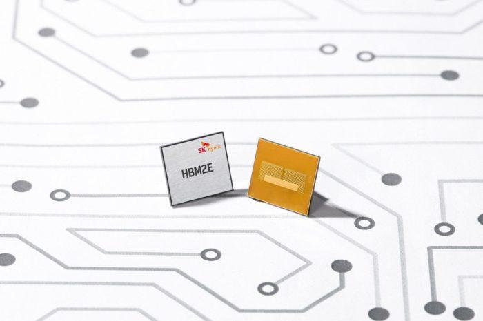 SK Hynix rozpoczyna masową produkcję układów 16 GB HBM2E DRAM. Konkurencyjne wobec GDDR6 rozwiązanie znajdzie się zapewne głównie w kartach profesjonalnych i HPC.