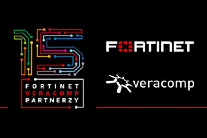 Veracomp, polski lider dystrybucji z wartością dodaną świętuje 15 lecie współpracy z firmą Fortinet, amerykańskim liderem w zakresie bezpieczeństwa teleinformatycznego.