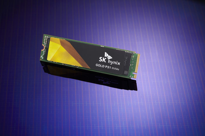 SK Hynix zaprezentował Gold P31 NAND Flash SSD - pierwszy na świecie konsumencki 128-warstwowy dysk SSD NAND Flash.