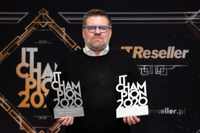 IT Champions 2020 – sylwetki laureatów. Xiaomi liderem innowacyjności i zwycięzcą niezwykle prestiżowej kategorii Mobile, dla najlepszego producenta smartfonów i tabletów.