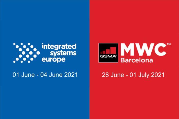 Dwie wielkie imprezy technologiczne - MWC 2021 i ISE 2021 odbędą się w czerwcu przyszłego roku w Barcelonie. Oczywiście, jeśli sytuacja pozwoli.