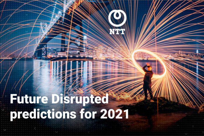 """NTT Ltd., wiodący światowy dostawca usług technologicznych, przedstawił swoje prognozy dotyczące trendów technologicznych, które będą motorem zmian w najnowszym raporcie """"Future Disrupted: 2021""""."""