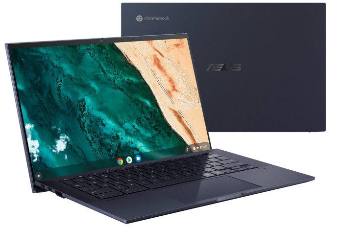 CES 2021: Chromebook z procesorem Tiger Lake? ASUS zaprezentował modele ChromeBook CX9400 i ChromeBook Flip CX5500.